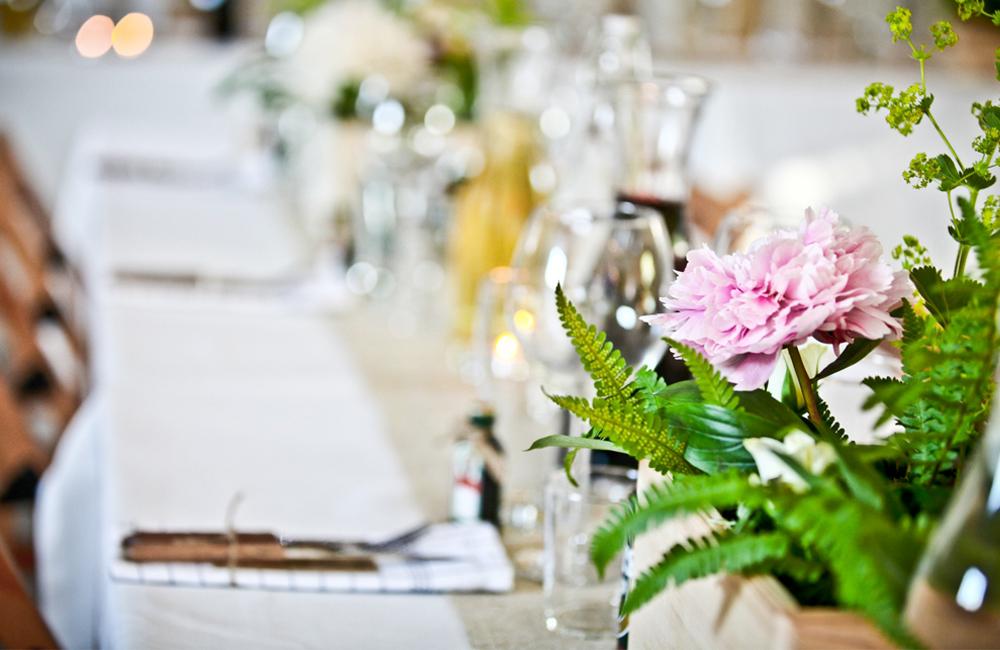 Bröllopsdukning 1