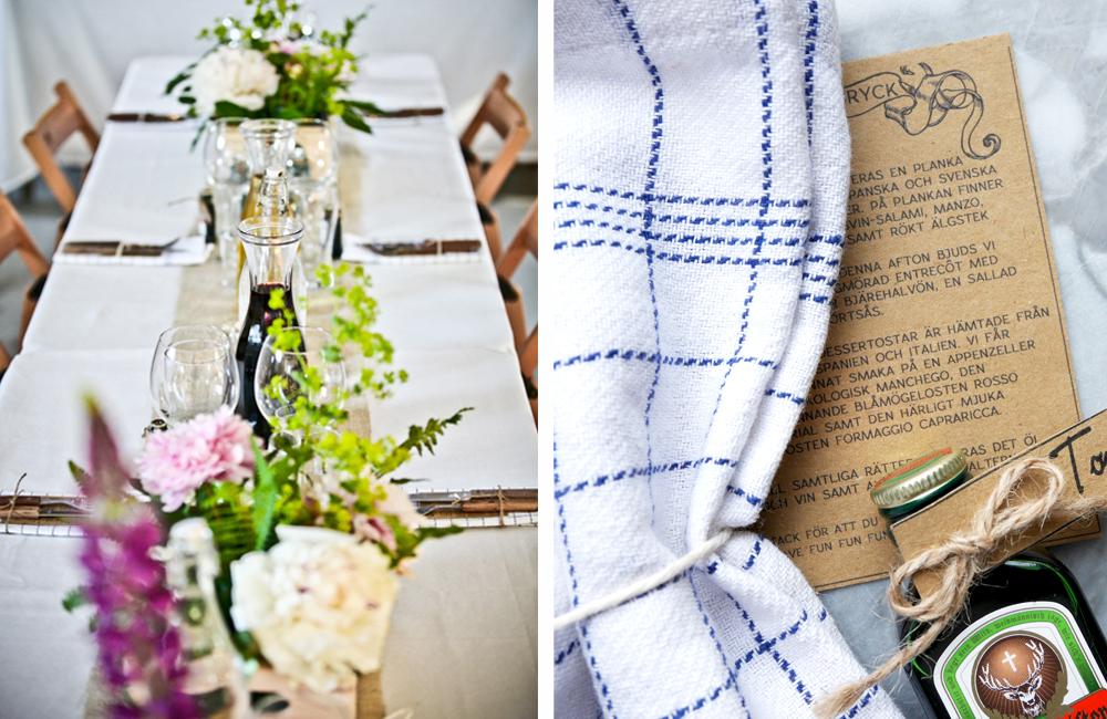 Bröllopsdukning 3