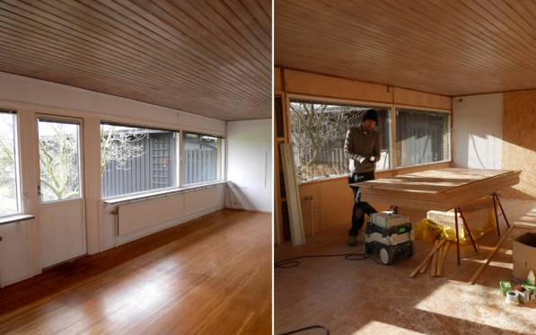 Fönsterrenovering vardagsrum del 1...