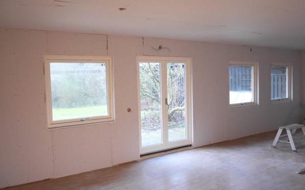 Fönsterrenovering vardagsrum del 2...