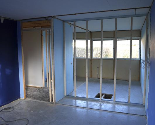 Renovering sovrum 6
