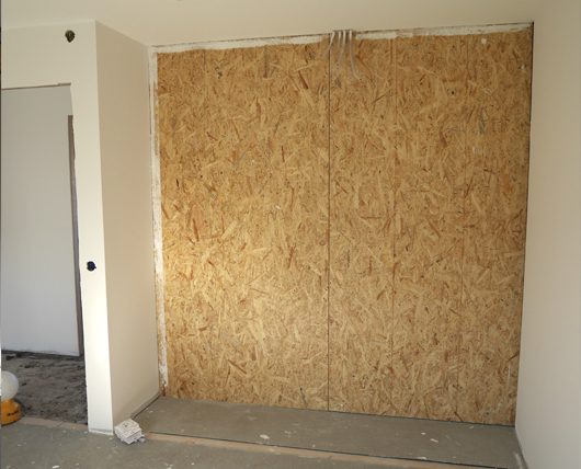 Renovering sovrum 8